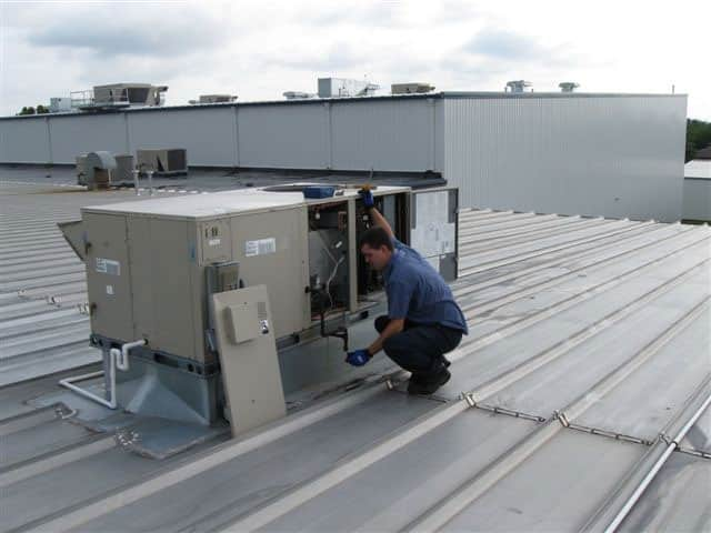 Commercial Service on Roof Top