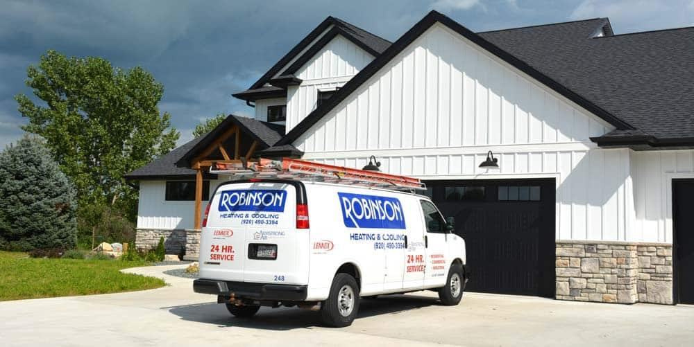 Robinson Heating & Cooling Van 2